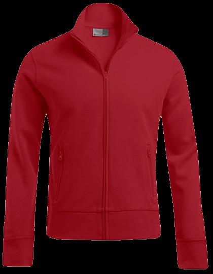 Herren Sweatjacke Promodoro Jacket Stand-Up Collar 5290 Fire Red_1