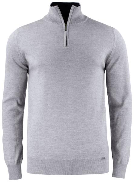 Unisex Pullover mit Zipper Cutter&Buck 355420 Grey Melange 95