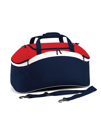 Sportasche BagBase Teamwear Holdall BG572 French Navy Classic Red White_1
