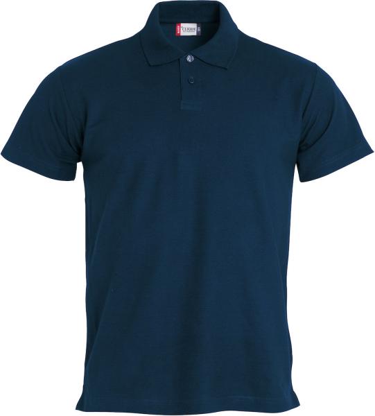 Poloshirt kurzarm Clique Basic Polo S/S 028232 Dunkel Marine 580