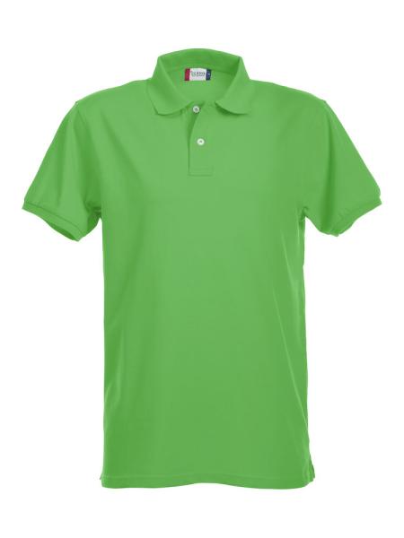 Poloshirt kurzarm Clique Stretch Premium Polo 028240 Apfelgruen 605