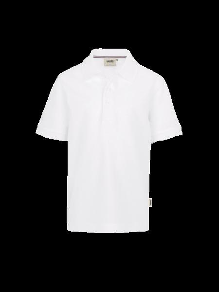 Kinder Poloshirt kurzarm Hakro Classic 400 weiss 001_1