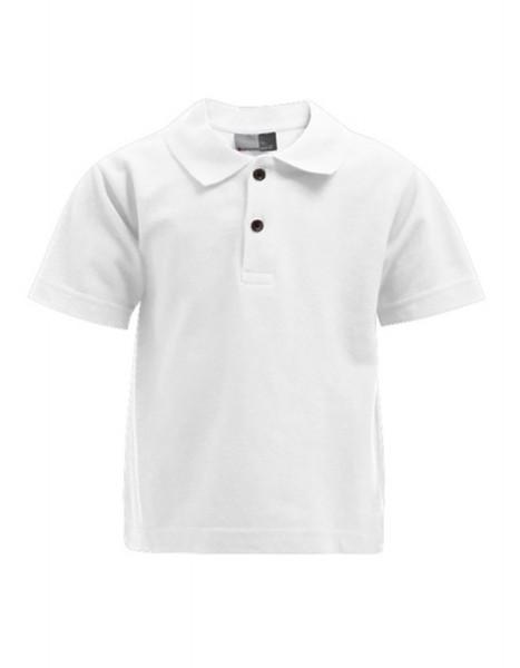 Kinder Poloshirt kurzarm Promodoro Premium 404 White
