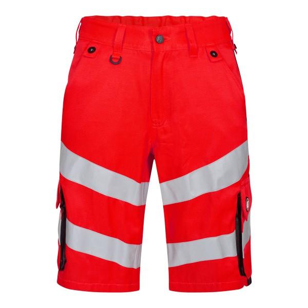 Herren Sicherheitsshorts FE Engel Safety 6545-319 Rot/Schwarz 4720