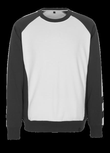 Herren Sweatshirt Mascot Witten 50570-962 weiss/dunkelanthrazit 0618_1