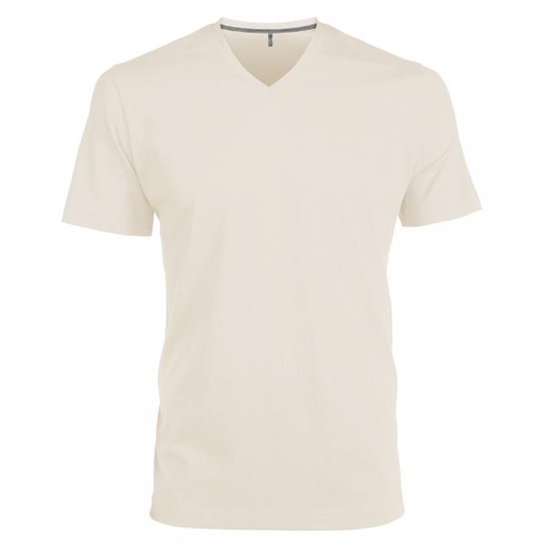 Herren T-Shirt kurzarm Kariban K357 Light Sand