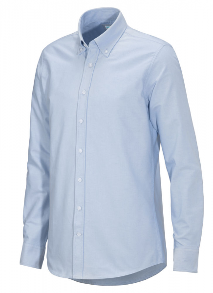 Hemd Langarm Cottover Oxford Shirt 141032 Light Blue 716
