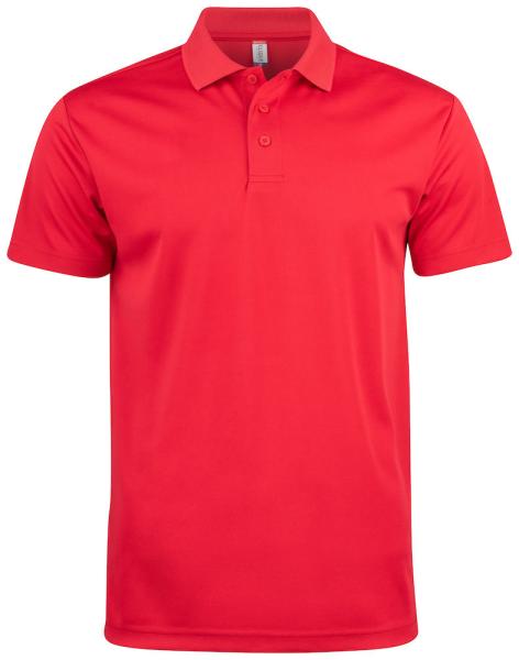 Poloshirt kurzarm Clique Basic Active Polo 028254 Rot 35