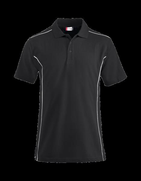 Herren Poloshirt kurzarm Clique New Conway 028222 Schwarz 99_1