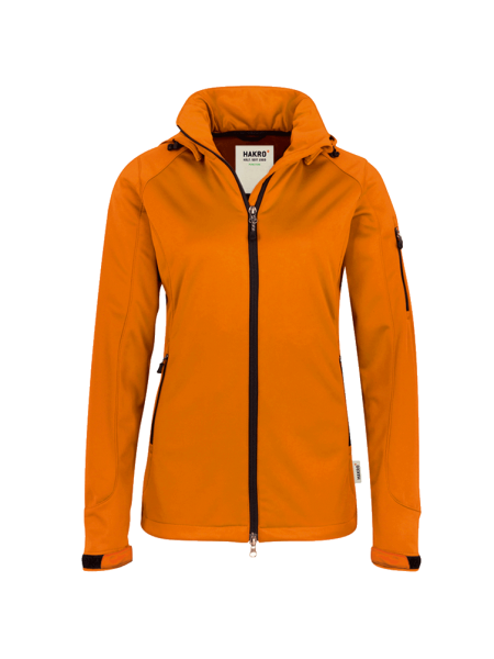 Damen Softshelljacke Hakro Alberta 248 orange 027_1