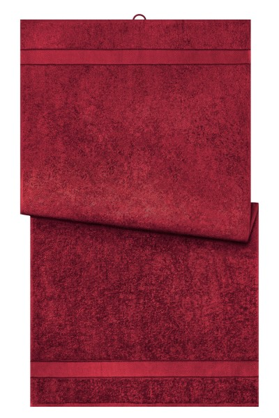 Duschtuch Myrtle Beach Bath Towel MB443 orient-red