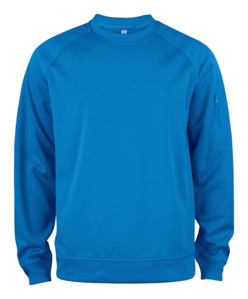 Pullover Clique Basic Active Roundneck 021010 Royal Blau 55