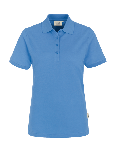 Damen Poloshirt kurzarm Hakro Classic 110 malibublau 041_1