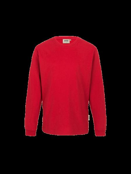 Kinder T-Shirt langarm Hakro 415 rot 002_1