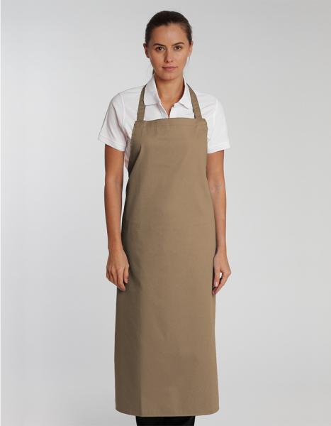 Unisex Latzschuerze C.G. Workwear Verona 110 x 75 cm 00130-01 Khaki
