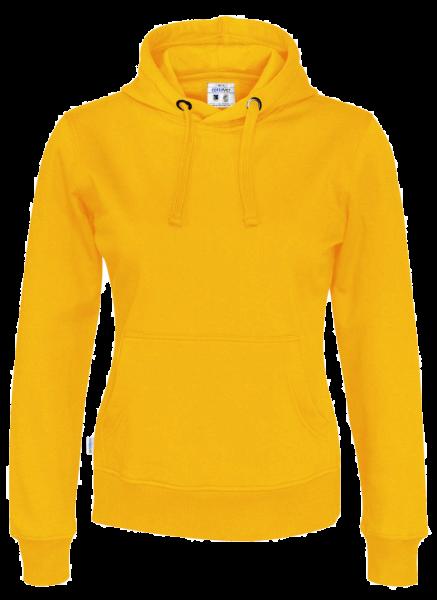 Damen Kapuzenpullover Cottover Hoody 141001 Yellow 255