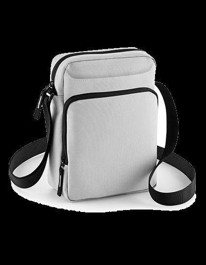 Umhaengetasche BagBase Across Body Bag BG30 Light Grey_1
