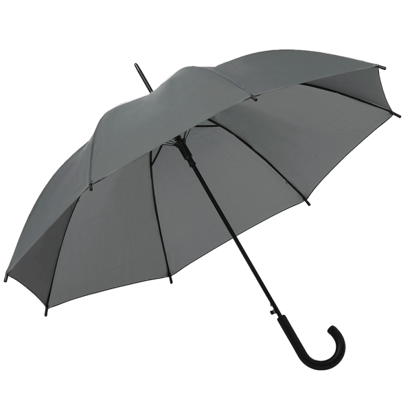 Regenschirm CASUAL 41170 Stockschirm-Automatik dunkelgrau