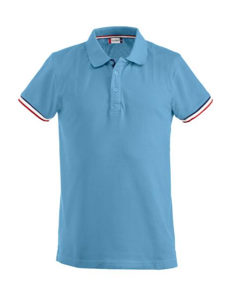 Herren Poloshirt kurzarm Clique Newton 028237 Himmelblau 51_1