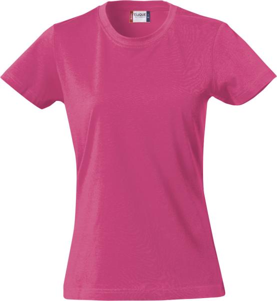 T-Shirt Kurzarm Clique Basic-T 029031 Cerise 300
