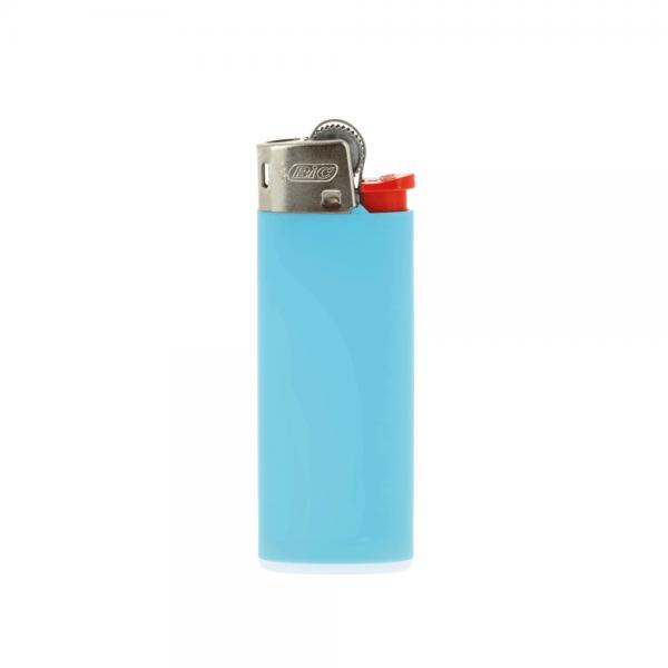 Feuerzeug BiC 2360 J25 Lighter Standard hellblau 1-/0-farbig bedruckt_1