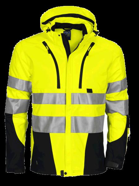 Herren Sicherheitsjacke ProJob 6419 Functional Jacket EN ISO 20471 Class 3/2 646419 Gelb/Schwarz 11_1