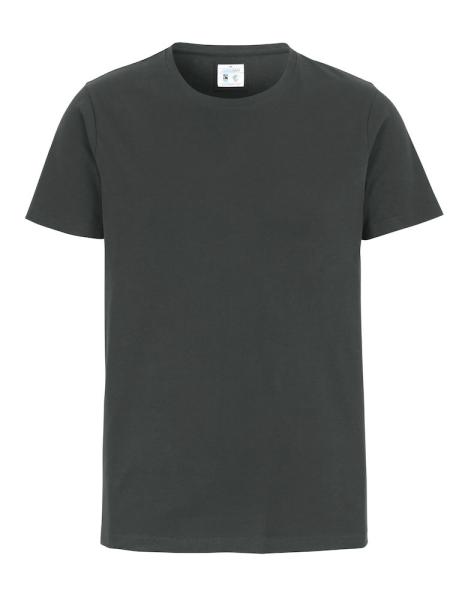 T-Shirt Kurzarm Cottover Stretch T-shirt 141026 Charcoal 980