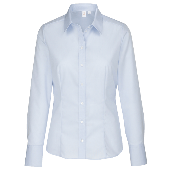 Damen Bluse langarm Seidensticker City Bluse Modern 80604 hellblau 12_1