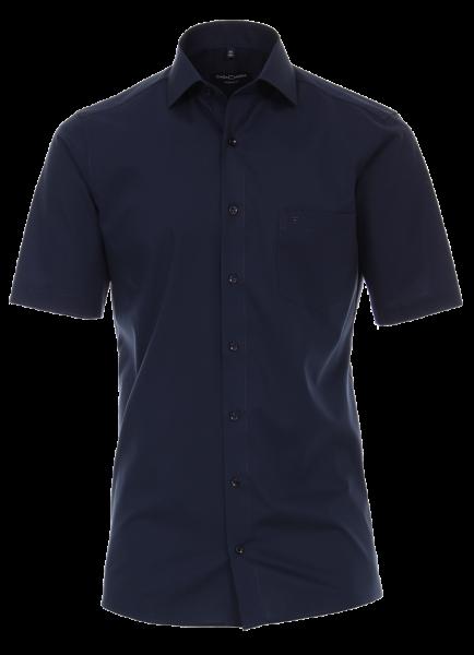Herren Hemd kurzarm CasaModa Modern Fit 8530 dunkelblau 116