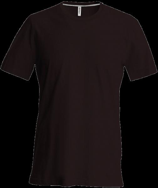 Herren T-Shirt kurzarm Kariban K356 Chocolate_1