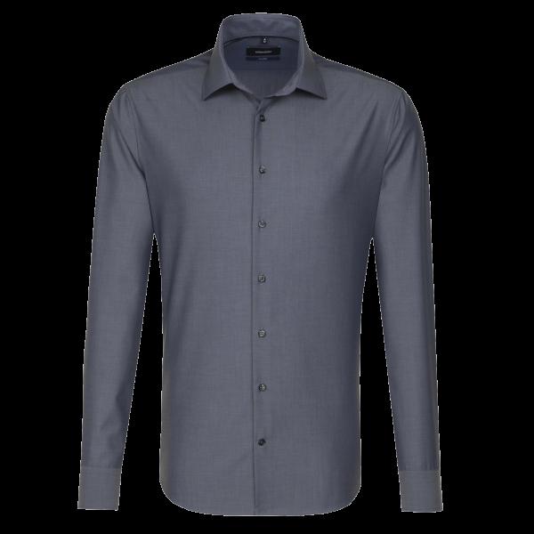 Herren Hemd langarm Seidensticker Tailored 241600 grau 34_1
