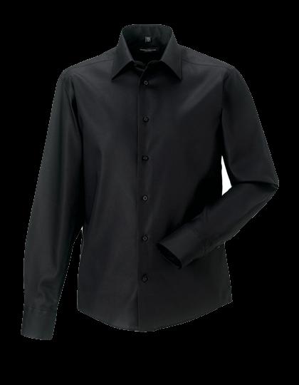 Herren Hemd langarm Russell Tailored Ultimate Non-Iron R-958M-0 Black_1