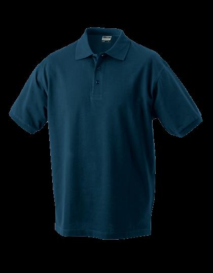 Herren Poloshirt kurzarm James&Nicholson Classic JN 070 Petrol_1