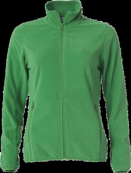 Damen Fleecejacke Clique Basic Micro Fleece Jacket Ladies 023915 Apfelgruen 605_1