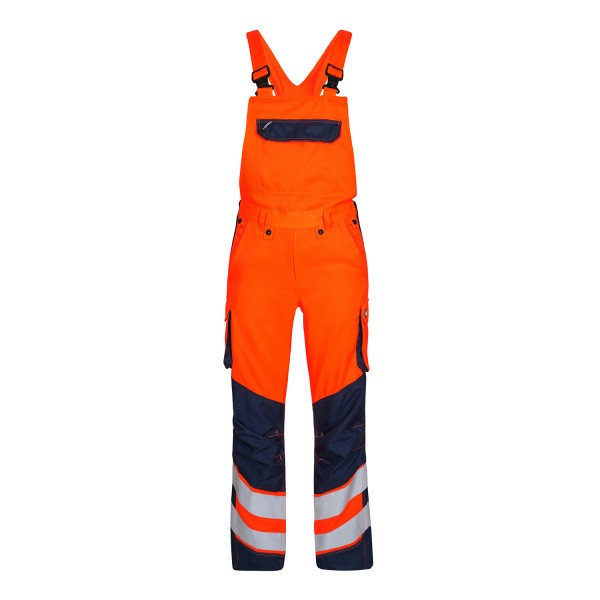 Herren Sicherheits-Latzhose FE Engel Safety 3545-319 Orange/Blue Ink 10165