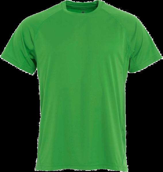 Herren T-Shirt kurzarm Clique Active-T 029338 Apfelgruen 605_1