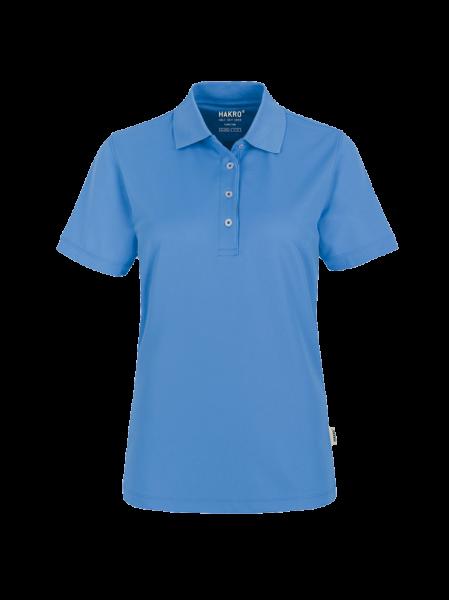 Damen Poloshirt kurzarm Hakro COOLMAX® 206 malibublau 041_1
