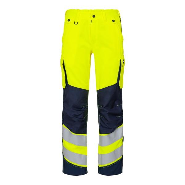 Damen Sicherheitshose FE Engel Safety 2543-319 Gelb/Blue Ink 38165