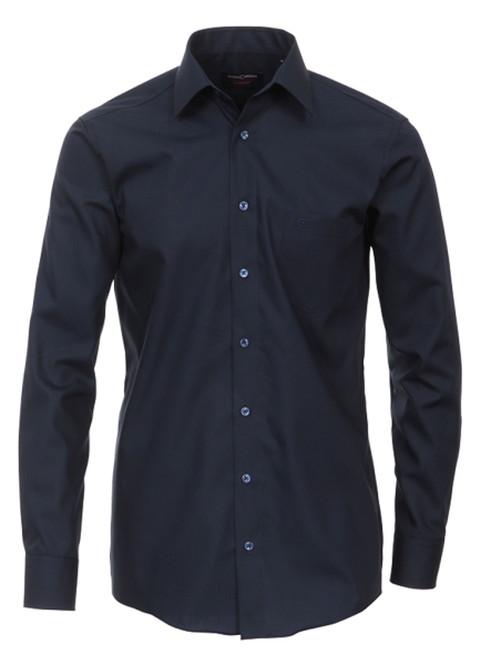 Herren Hemd langarm CasaModa Comfort Fit 6050 dunkelblau 116