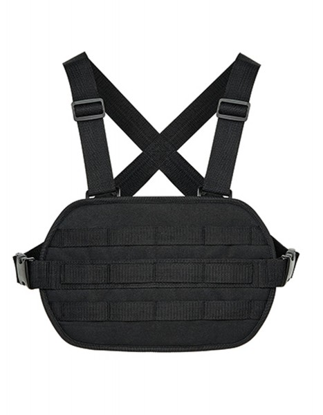 Brusttasche BagBase Modulr™ Chest Rig BG245 Black