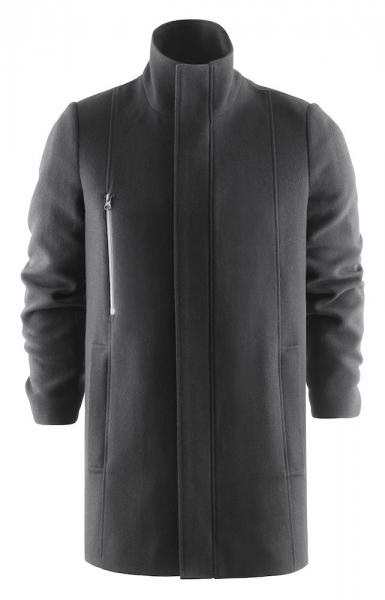 Wintermantel Harvest Frost Hybrid Wool Coat 2990101 Schwarz 900