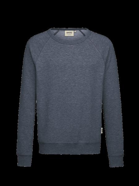 Herren Raglan-Sweatshirt Hakro 607 tinte meliert 330_1