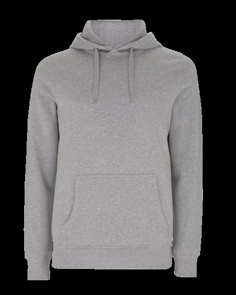 Herren Kapuzenpullover Continental Clothing EARTHPOSITIVE® HOODY EP51P Melange Grey_1