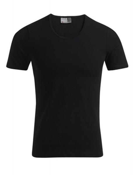 Herren T-Shirt kurzarm Promodoro Slim Fit-T 3081 Black