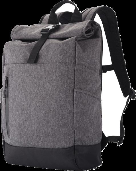 Rucksack Clique Roll-up Backpack 18 L 040220 Anthrazit meliert 955_1