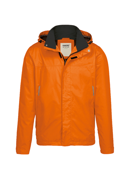 Herren Regenjacke Hakro Connecticut 862 orange 027_1