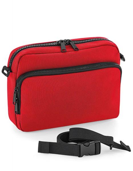 Freizeittasche BagBase Modulr™ 2 Litre Multipocket BG242 Classic Red