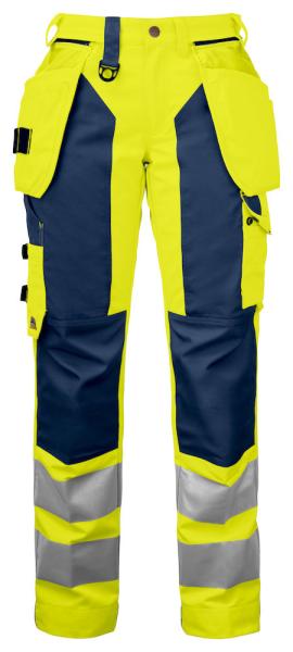 Damen Sicherheitshose Projob 6519 ARBEITSHOSE EN ISO 20471 KLASSE 2 646519 yellow/navy 10_1