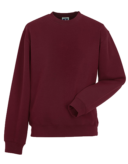 Herren Pullover Russell Authentic Sweatshirt R-262M-0 Burgundy_1