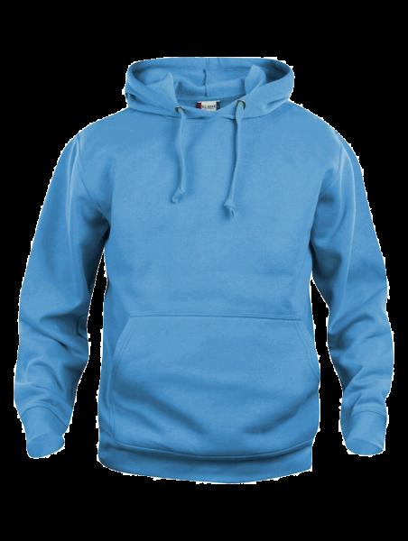 Unisex Kapuzenpullover Clique Basic Hoody 021031 Tuerkis 54_1